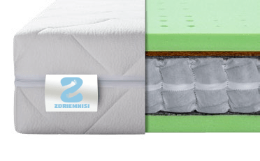 Ortopedický taštičkový matrac Seven Zone Ergonomic