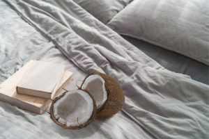 Kokosové vlákno v matracoch